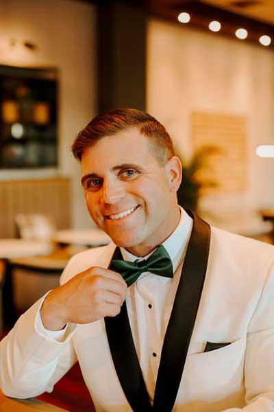 Man Wearing Tux | Simon's Formal Wear Augusta, GA | Suits - Tuxedos - Men's Formal Wear