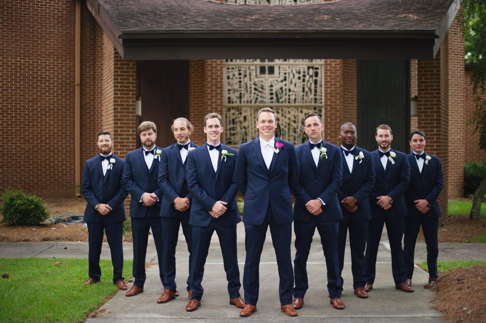 Men's Wedding Group | Simon's Formal Wear Augusta, GA | Suits - Tuxedos - Men's Formal Wear